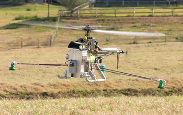 Automated drones may also have a future in farming. (Source: AFCR)