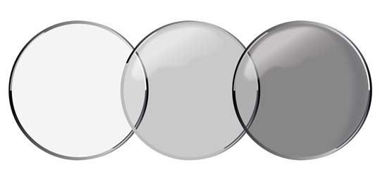 FDA-approved contact lenses that darken in sunlight. (Source: Johnson & Johnson Vision)