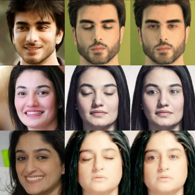 Facebook designs algorithm that can enable users to take better selfies, i.e., photographs with closed eyes can be converted to ones with open eyes. (Source: Facebook)