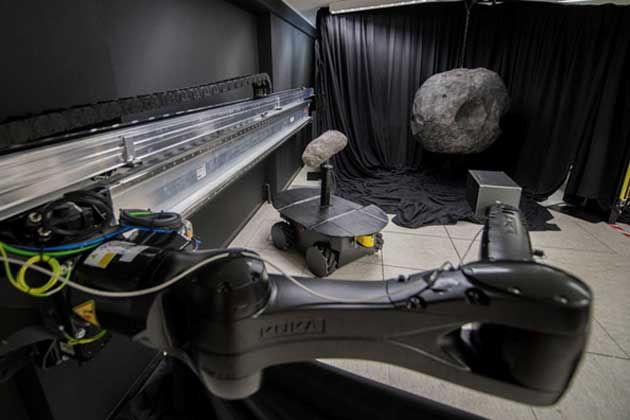 GRALS binary asteroid testing. (Source: European Space Agency)