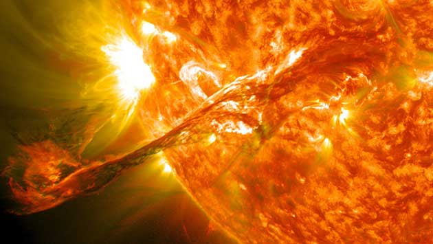 Our sun also performs fusion all the time. (Source: NASA Goddard Space Flight Center @ flickr)
