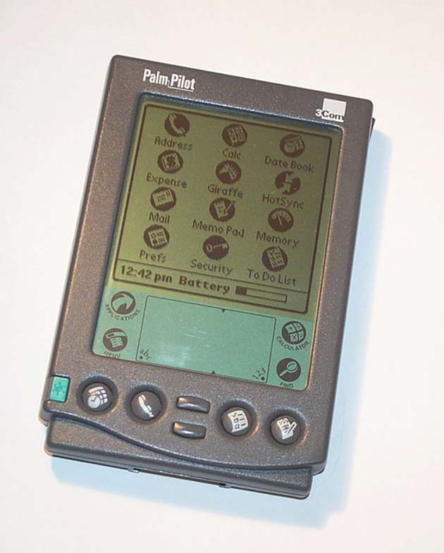 Palm's iconic PalmPilot. (Source: Public Domain)