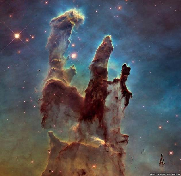 Stunning space images taken from the Hubble telescope. (Source: NASA)