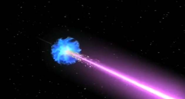 Supernovas may also be sources of cosmic rays. (Source: NASA)