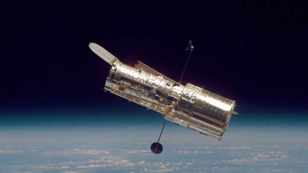 The Hubble Space Telescope, much more advanced than its predecessor, the Kepler telescope, was instrumental in finding a moon, the exomoon, orbiting an exoplanet. (Source: NASA/Handout)