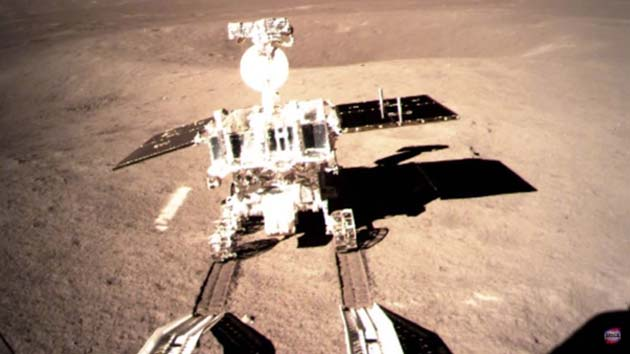 The Yutu 2 rover. (Source: CNS/CLEP/YouTube)