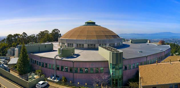 This building houses the synchrotron at LBNL. (Source: Berkeley Lab @ flickr)