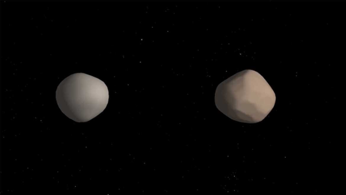 2017 YE5: A Near-Earth Rear Binary Asteroid Discovered