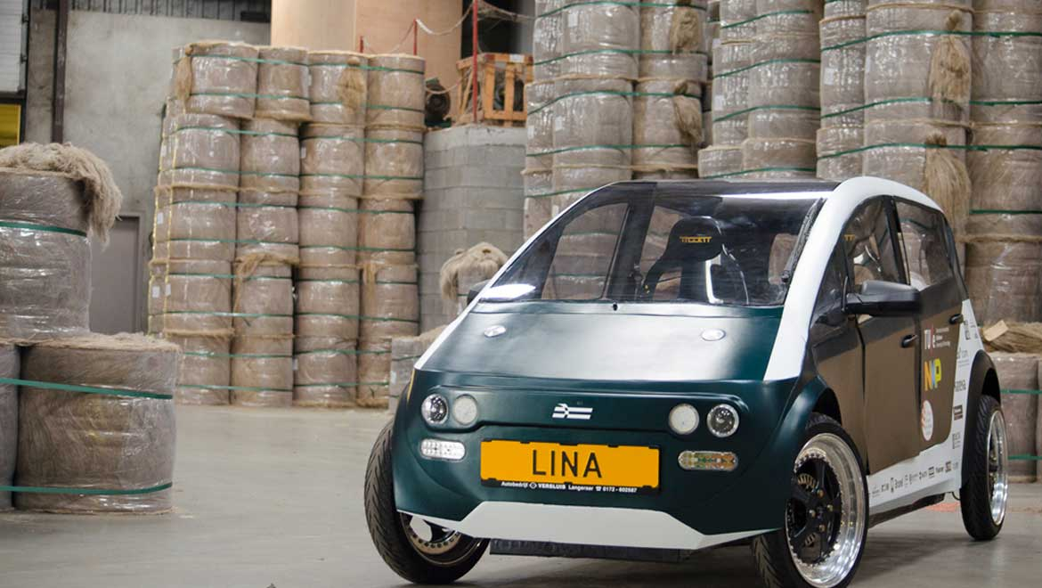 Biodegradable Car Hits the Roads in the Netherlands