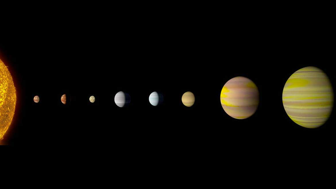 NASA and Google Discover Another Solar System with Eight Planets