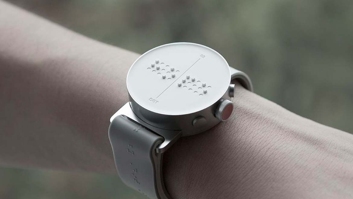 Dot: The Ground-Breaking Braille Smartwatch