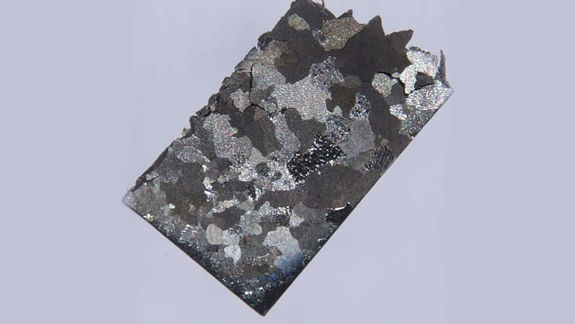 Ruthenium is a metallic element that can be less than stable in some pure forms.
