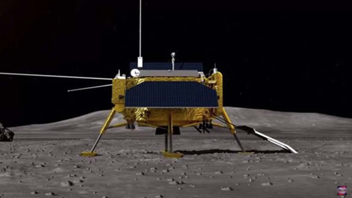 China Claims World-First Spacecraft Landfall on Far Side of the Moon