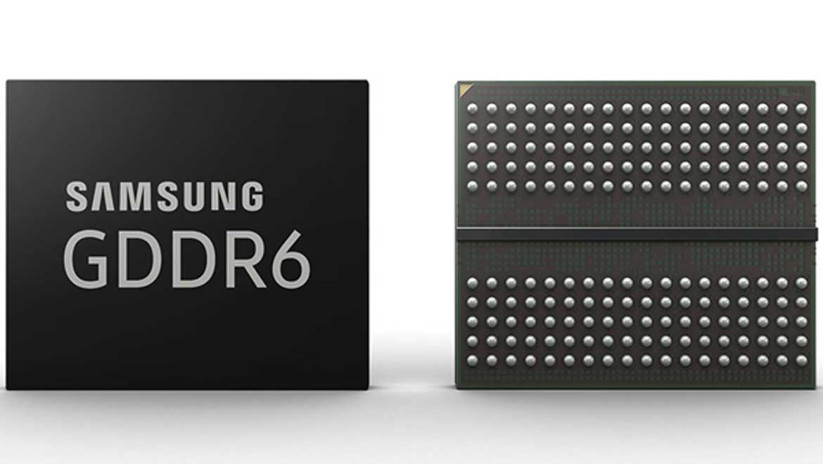 GDDR6 Memory is Here: Samsung's New-Generation Graphics Memory is in Mass Production