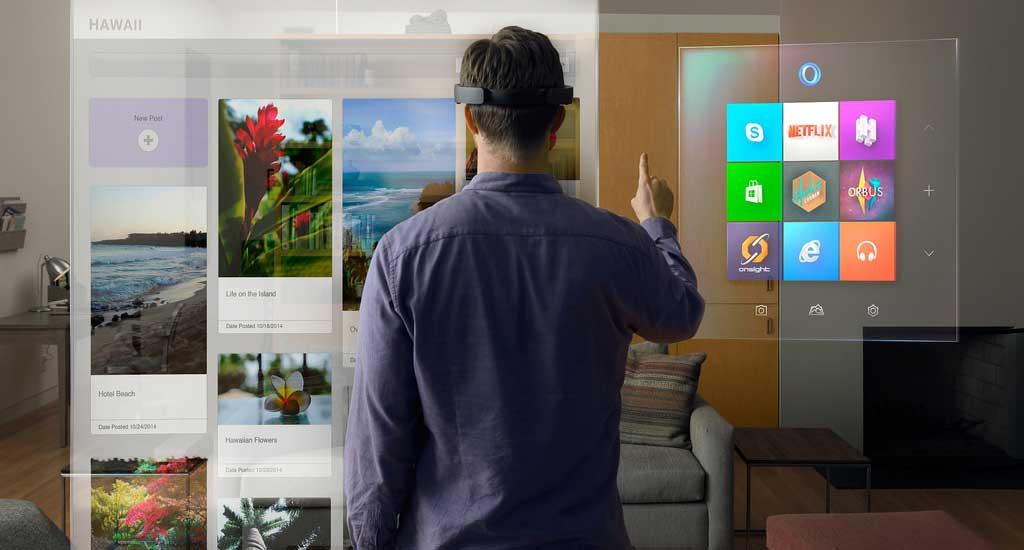 Win10 HoloLens Livingroom