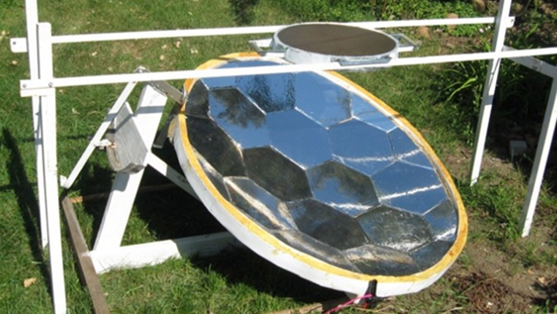 Gallagher Solar Injera Cooker.