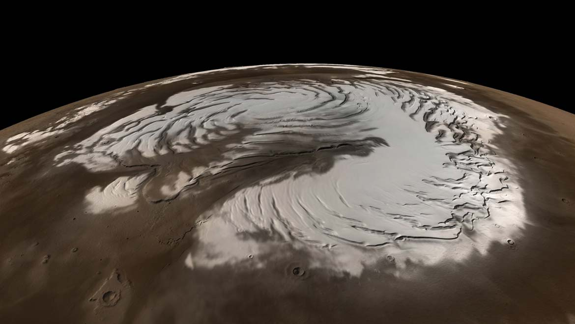 The Red Planet Turns White: Unexpected Snowstorms Discovered on Mars