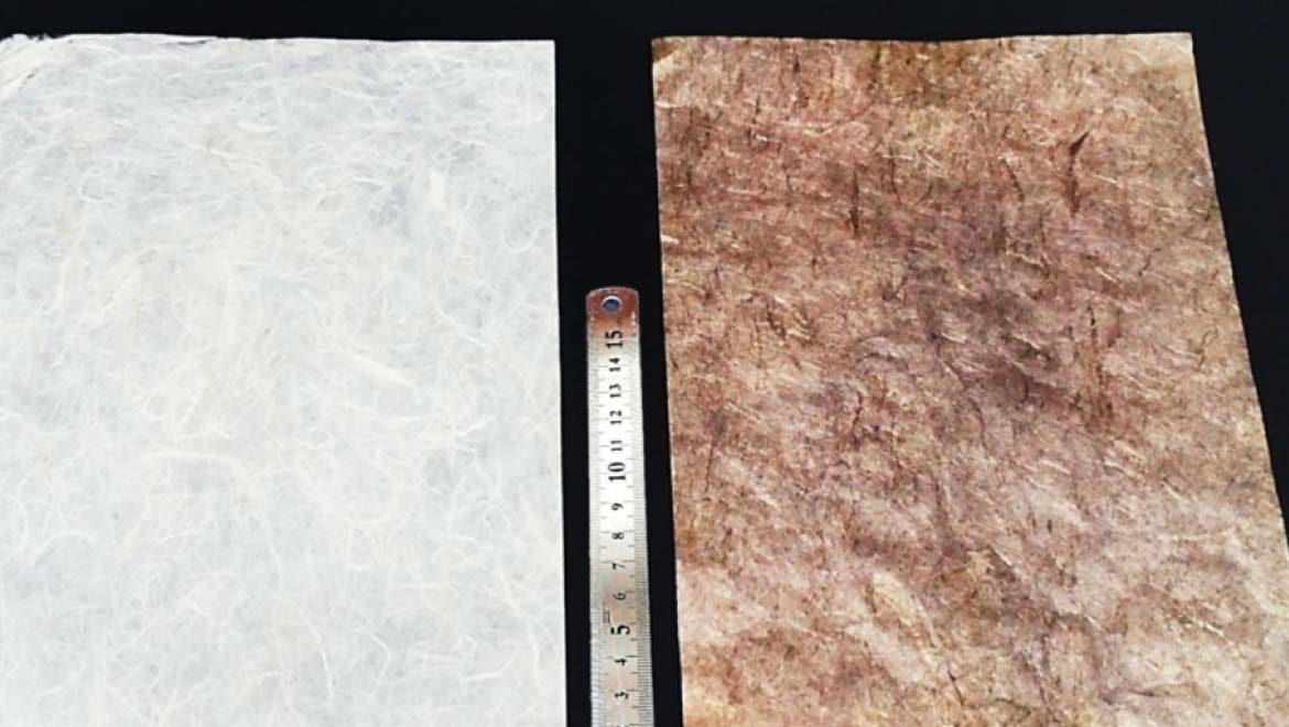 Metallic Paper: A Power Source for Flexible Wearables?