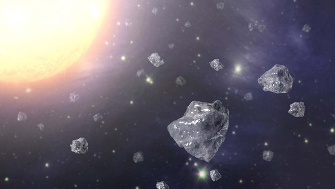 Meteoric Diamonds Probably Came From A Long-Lost Planet