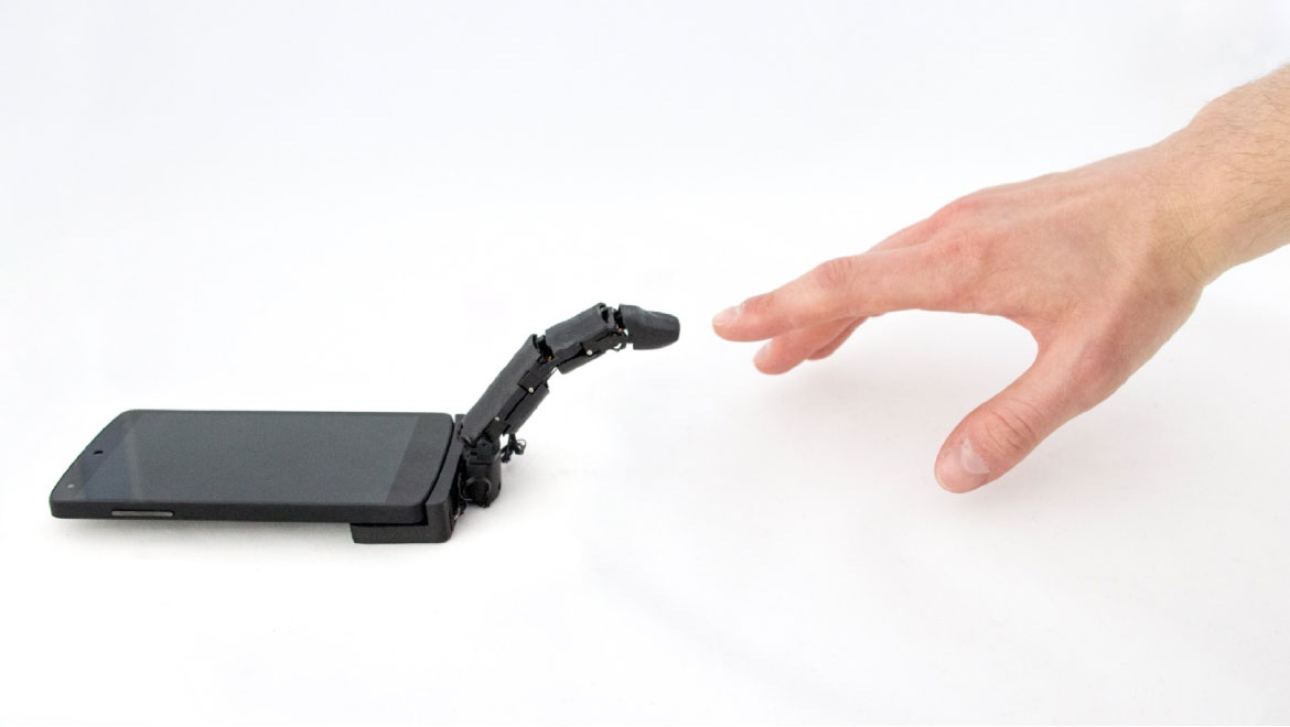 Era Of 'Smart' Touch: This Phone Accessory Can Literally Touch Its User Back!