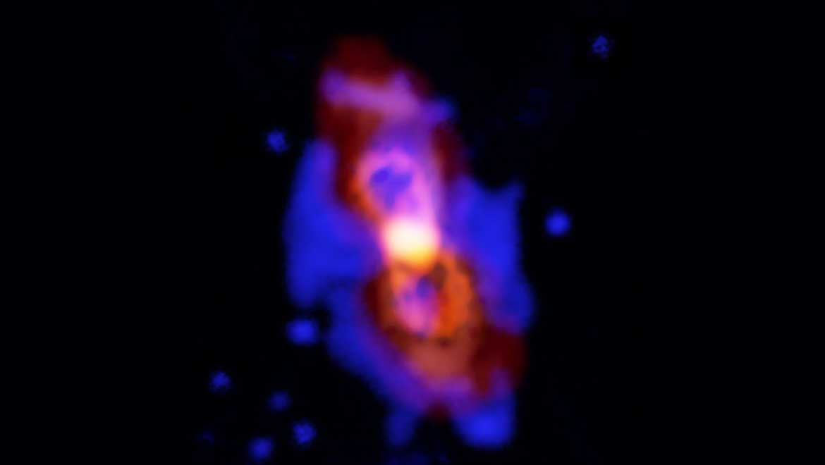 New Star Released Radioactive Molecules Say ALMA Scientists