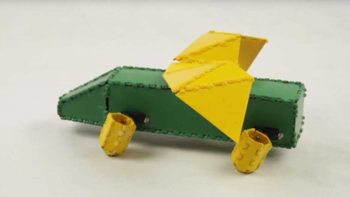 Robot Origami: How MIT Scientists Plan to Bring Recreational Robotics to the Masses