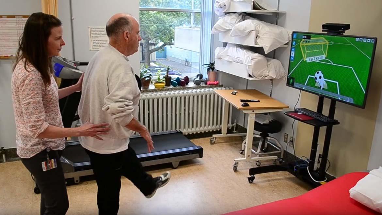Virtual Reality Stroke Rehabilitation Exercise