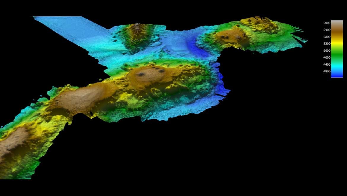 Entire System Of Volcanic Mountains Found Under Australian Seas