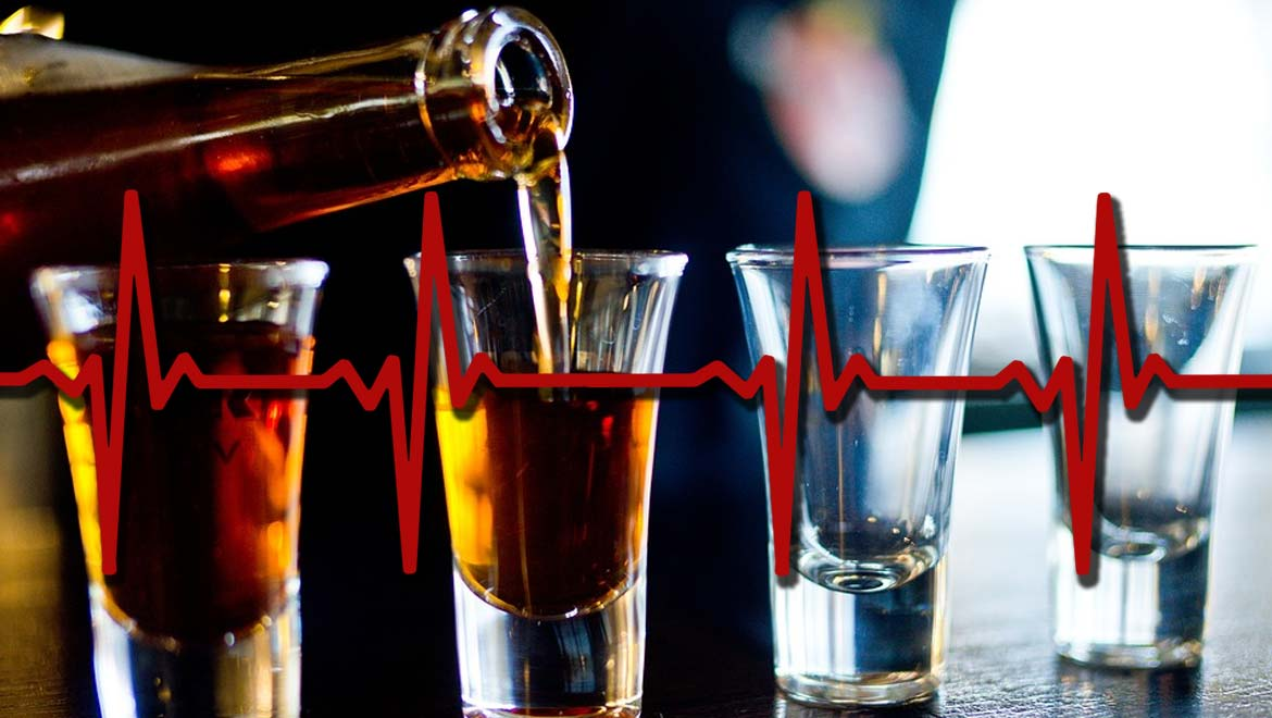 Alcohol Makes Your Heart Go Faster: New Research May Link Binge Drinking to an Accelerated Heart Rate