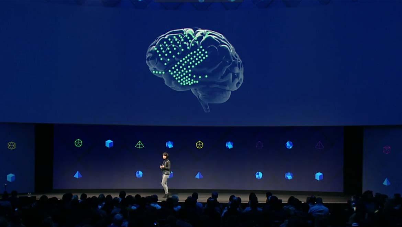 Screenshot of the F8 2017 event