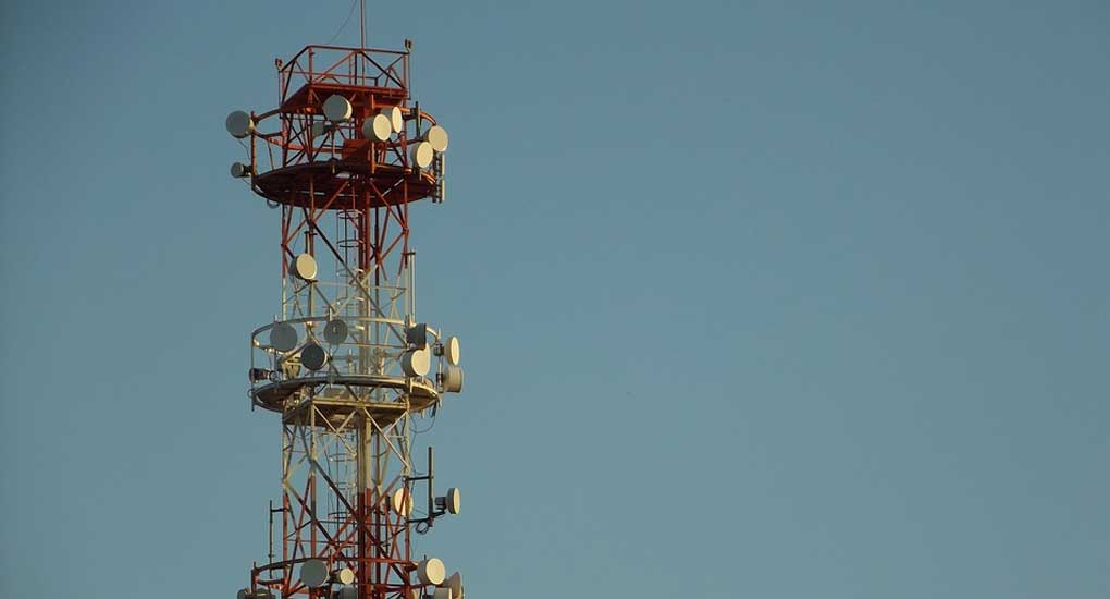 Mobile Network Cellular Telecommunications Antenna