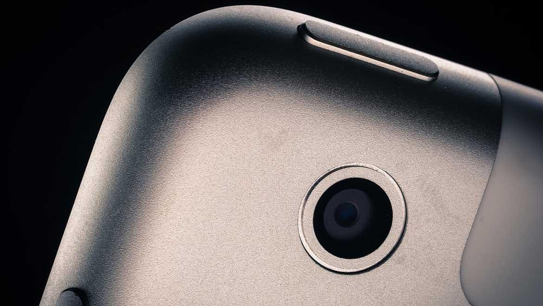 Iphone back camera. (Public Domain)