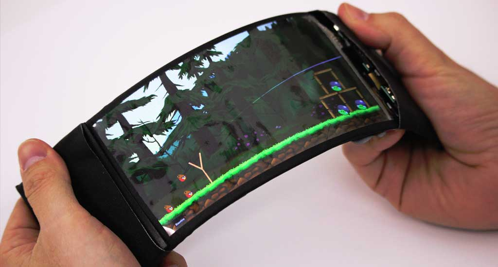 YouTube screenshot of the ReFlex phone.