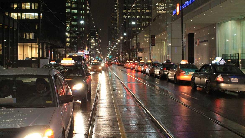 Traffic on the roads. (Public Domain)