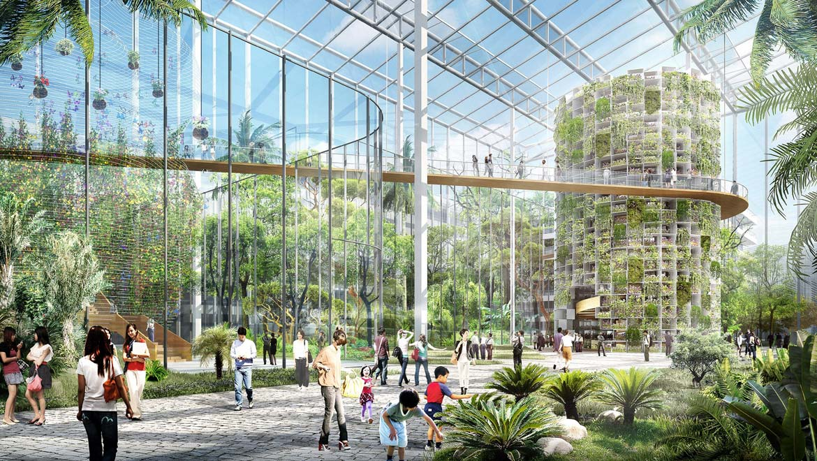 Vertical Farms In Cities Are The Future Of Urban Farming