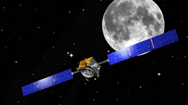 A mission by spacecraft Chandrayaan-1 that helped discover the presence of water ice on the moon. (Image Source: DNAIndia)