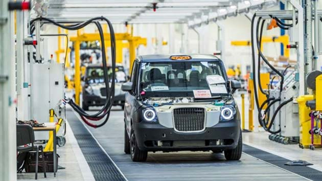 The new electric taxi will roll off the production line at Ansty Park later this year (London Taxi Company)