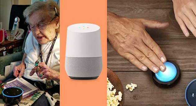 Stats have proved that users, especially seniors, who were in possession of smart speakers in their homes felt benefitted by them in some way. (Source: Cathy Pearl @Medium)