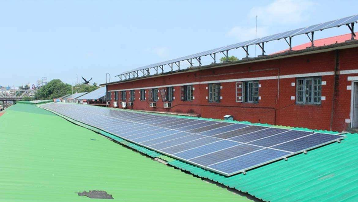 First 100% Solar-Powered Railway Station In North-East India