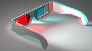 "Illusion of Depth and Space (15/22) - Colour 3D Anaglyph of 3D Anaglyph (Red and ""Green"") Stereoscopic Glasses"