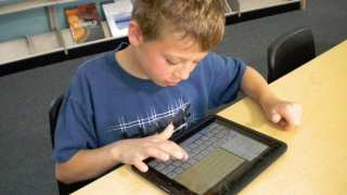 Children with Dyslexia Using iPad