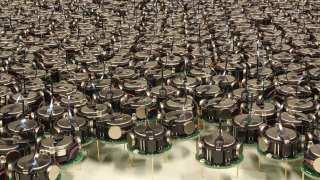 Kilobot is a thousand robot swarm developed at Harvard University.