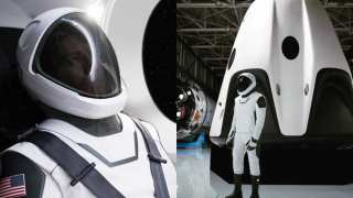 The SpaceX Crew Look: Tesla Boss Unveils Next-Generation Space-Suit