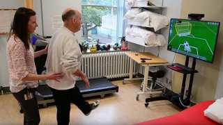 Virtual Reality Stroke Rehabilitation Exercise