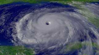 Hurricane Rita as a Category 5 hurricane.