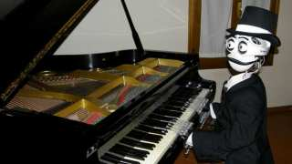 Jazz Robot by Italian robotics company Teotronica is a robot that plays the piano using two hands and 19 fingers