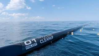 Newly Designed System For Ocean Clean-up in 2018