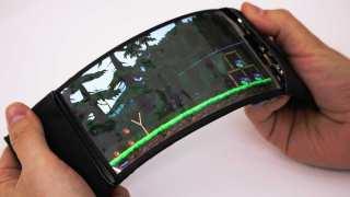 YouTube screenshot of the ReFlex phone.