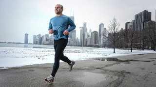 Runner in Chicago