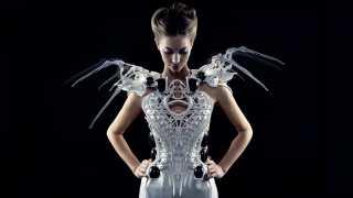 Women wearing the spider dress